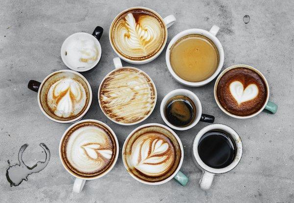 Разновидности кофейных напитков.